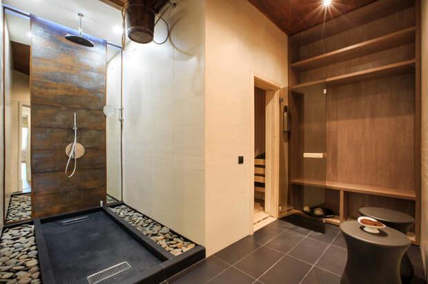 Современный Ванная комната by ООО Строительная компания Батенькофф