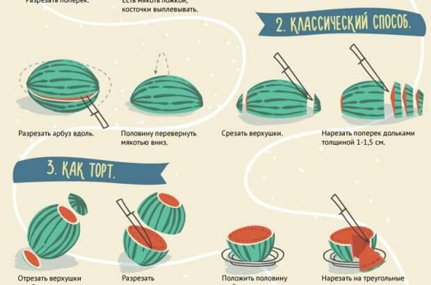 Полосатый астраханец: как выбирать, нарезать и готовить абруз