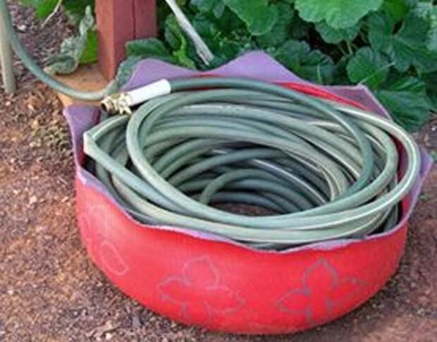 Шины в саду (подборка)