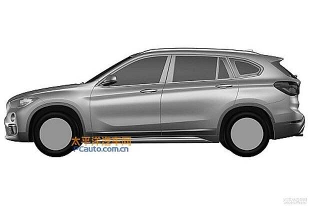 2016-BMW-X1-LWB-left-side-patent-image