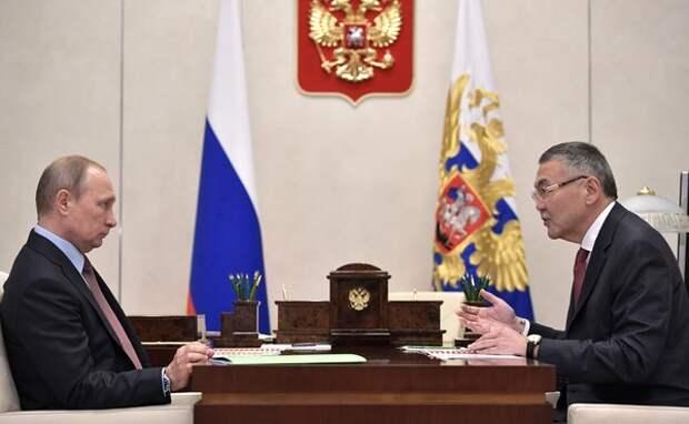 Путин принял отставку главы Калмыкии