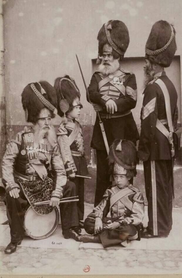 Дворцовые гренадеры. Российская империя, 1892 год. история, факты, фото