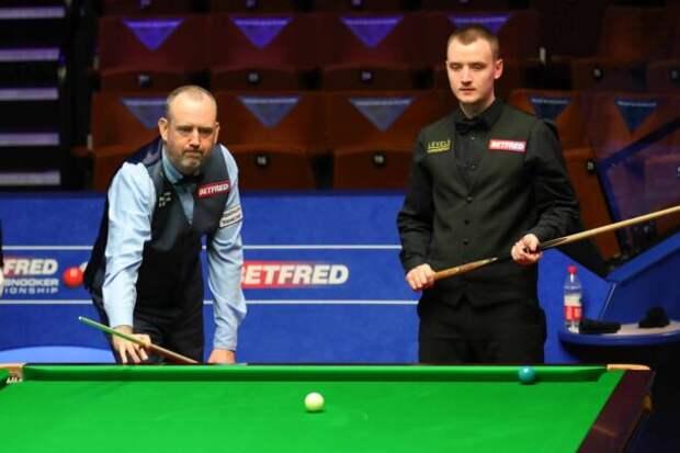 Марк Уильямс и Сэм Крейги (фото: World Snooker)