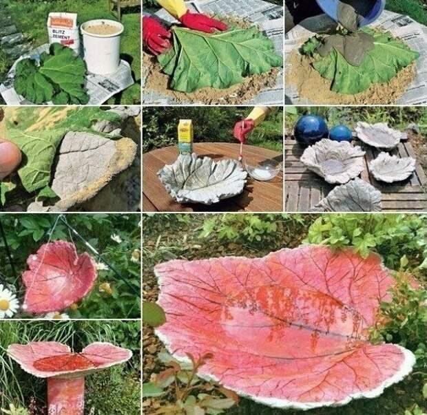 Ландшафтные чаши для воды