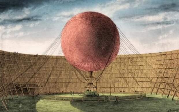 Первыми пассажирами воздушного шара были овца, петух и утка.