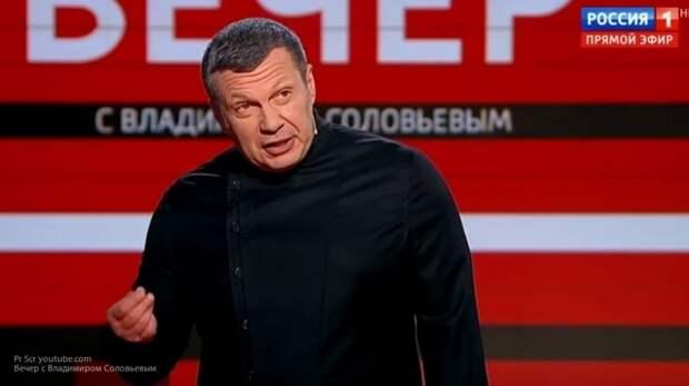 """Соловьев назвал реакцию Ходорковского на убийство журналистов в ЦАР """"подлыми воплями"""""""