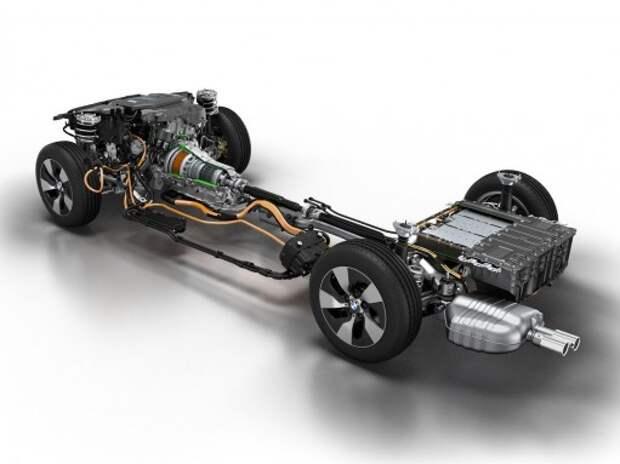 BMW представила гибридный привод будущего и настоящего