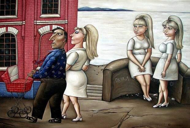 AngelaJerich14 Путешествие в СССР: картины художницы Анжелы Джерих
