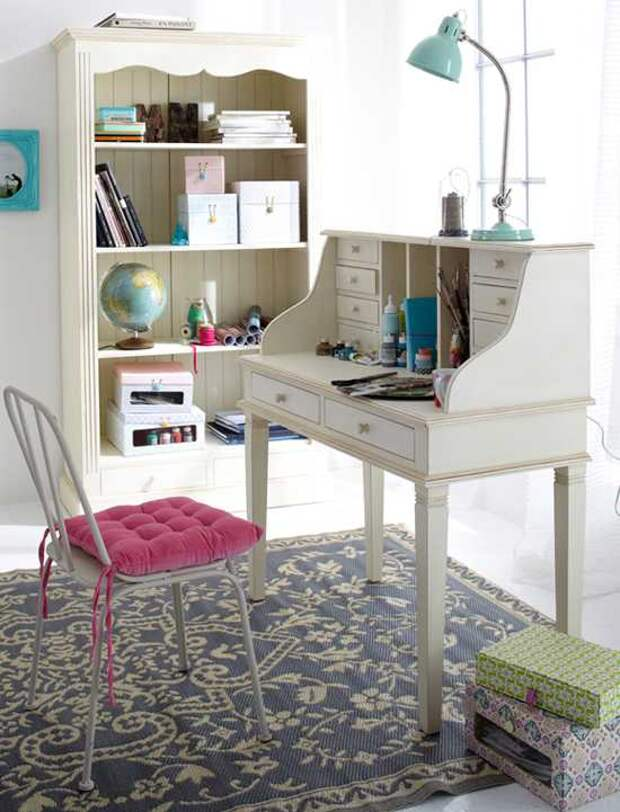 Несколько красивых домашних офисов