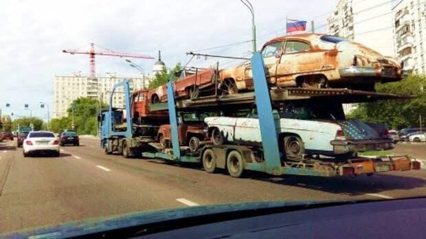 Автохлам на дорогах: кому это выгодно?
