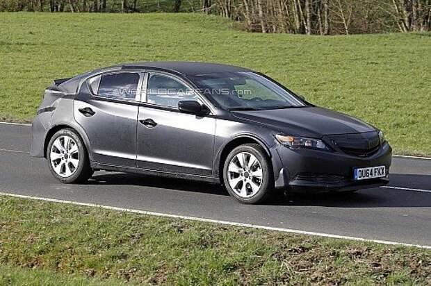 Хэтчбек Honda Civic сделает турборывок