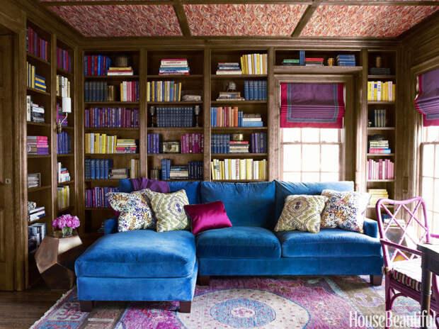 Книголюбы лопнут от зависти: 26 великолепных домашних библиотек