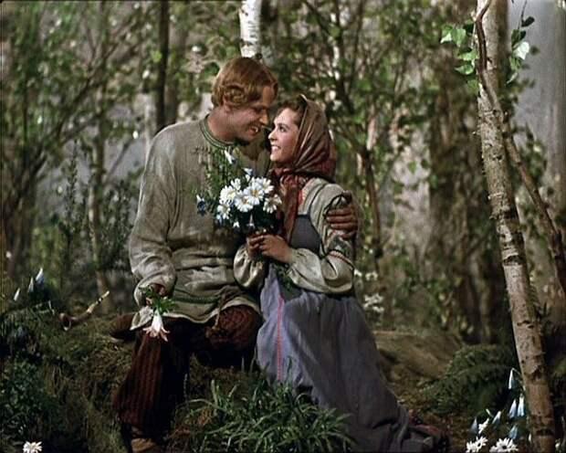 История жизни и смерти невесты Данилы–мастера из сказки «Каменный цветок».