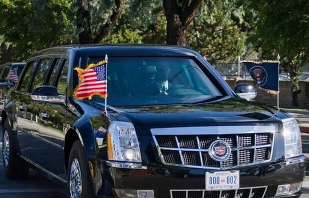 2. Cadillac One лимузин, правительственный автомобиль