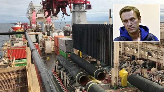 """Европарламент потребовал немедленно заблокировать строительство """"СП-2"""" и освободить Навального"""