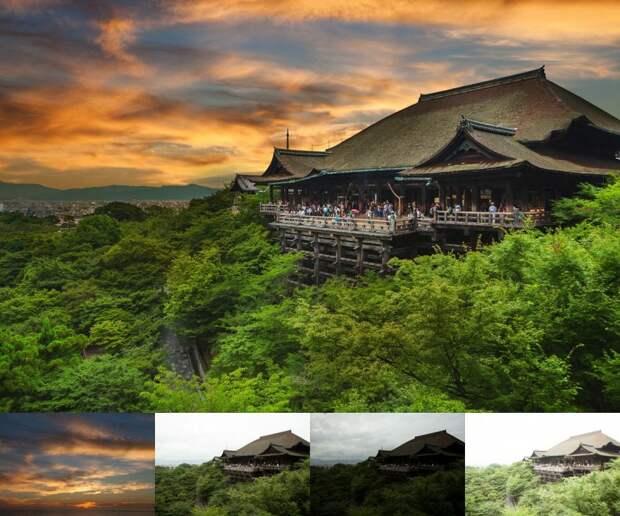 Как выглядят знаменитые места до и после обработки в фотошопе