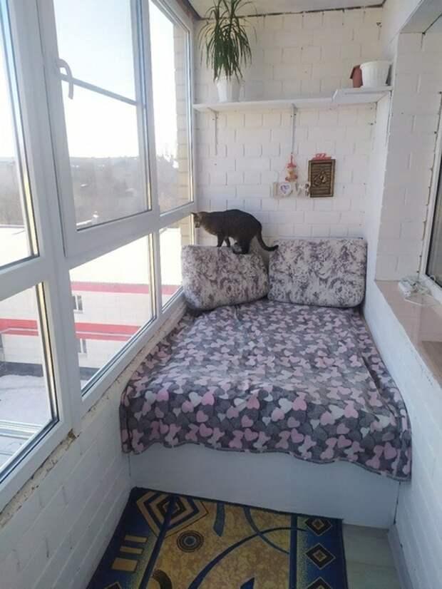 Способ обустроить балкон