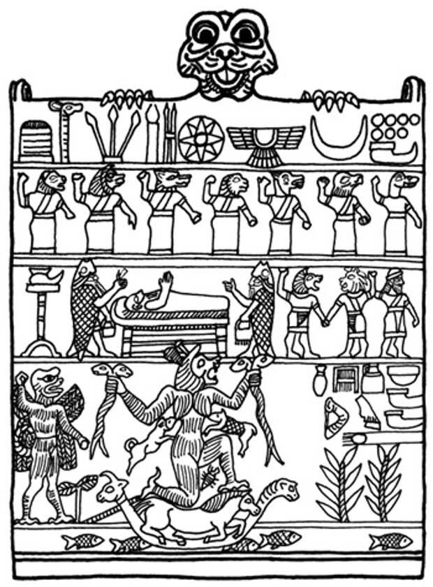 Пацуцу (Пазузу) – разъяренный демон расы рептилоидов