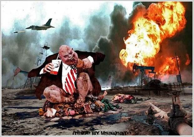 Война в Ираке - это крах США