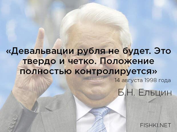 Цитаты Бориса Николаевича Ельцина