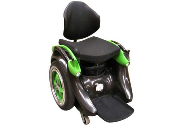 Уникальное инвалидное кресло из сломанного сегвея