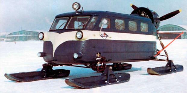 Потом было создано вот такое транспортное средство.