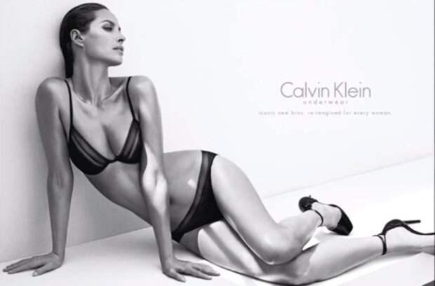 Кристи Тарлингтон (Christy Turlington). Возраст: 44 года. Кампания: Calvin Klein Underwear.