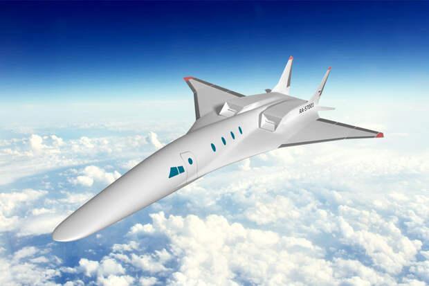 Минпромторг открыл тендер на концепт гражданского сверхзвукового самолета