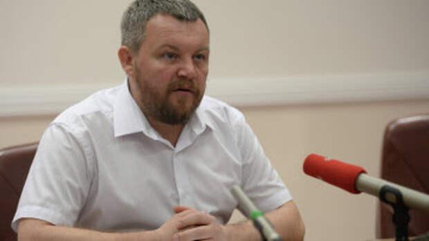 Вице-премьер Донецкой народной республики Андрей Пургин. Архивное фото