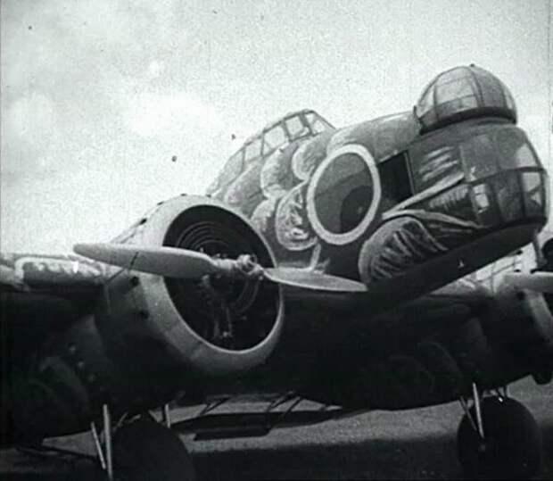 Ближний бомбардировщик и разведчик Калинин ВС-2