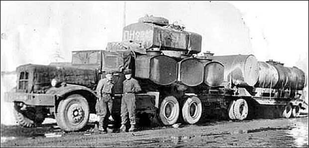 Мирный танковый тягач история, колыма, техника