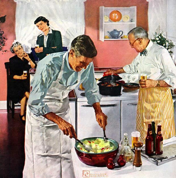 Рецепт мужского пирога