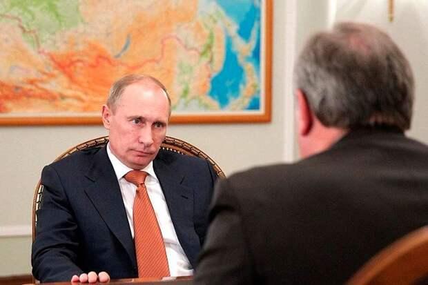 Путин и Рагозин