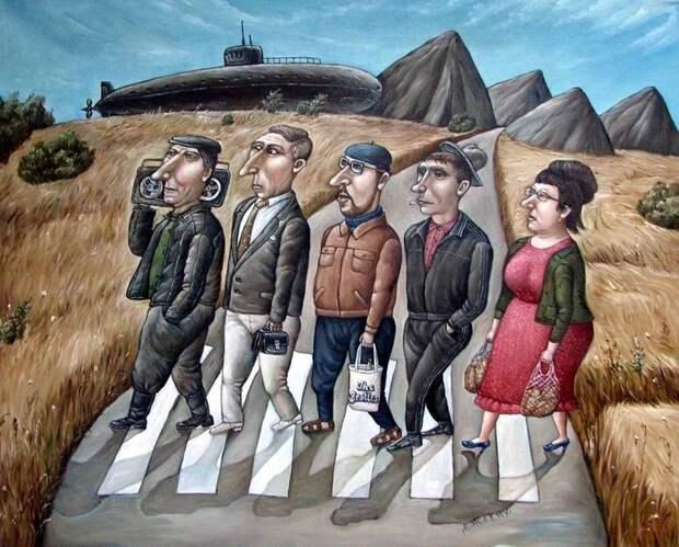 AngelaJerich28 Путешествие в СССР: картины художницы Анжелы Джерих