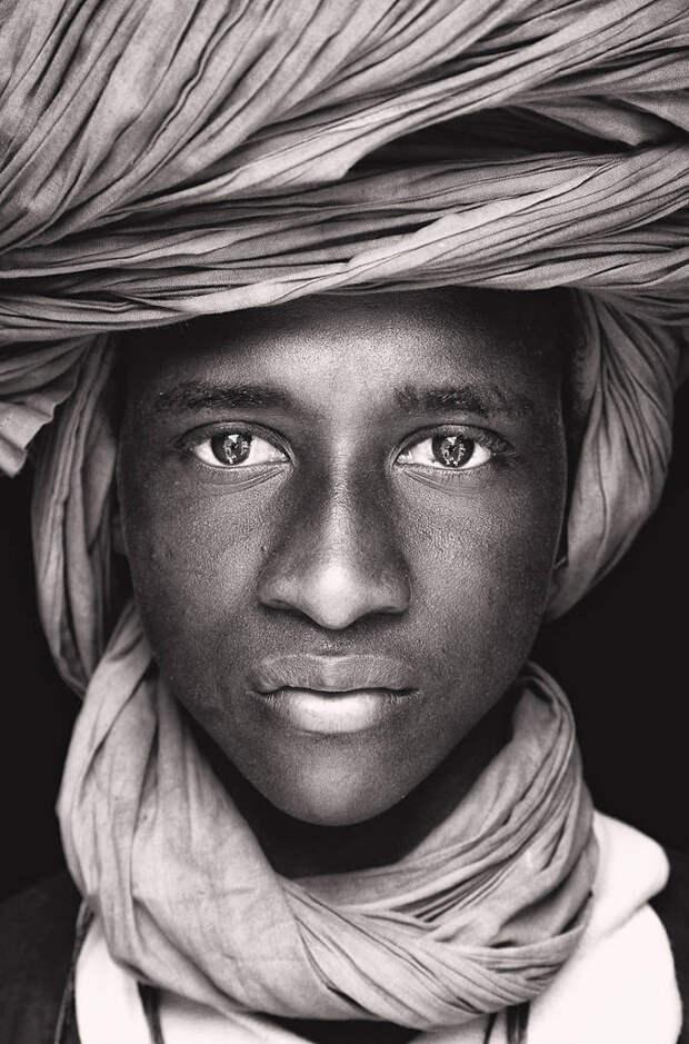 Сильные портретные снимки африканских кочевников