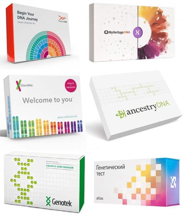 некоторые тесты ДНК из их большого многообразия