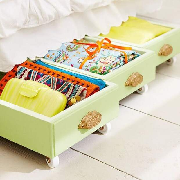 Мебель из ящиков комода (трафик)