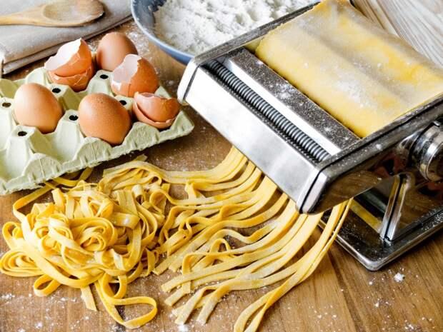 Как приготовить яичную лапшу