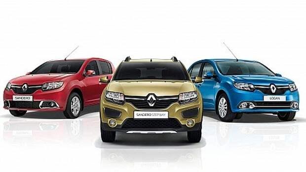 Renault Logan, Sandero и Sandero Stepway обзавелись «роботом» и «автоматом»
