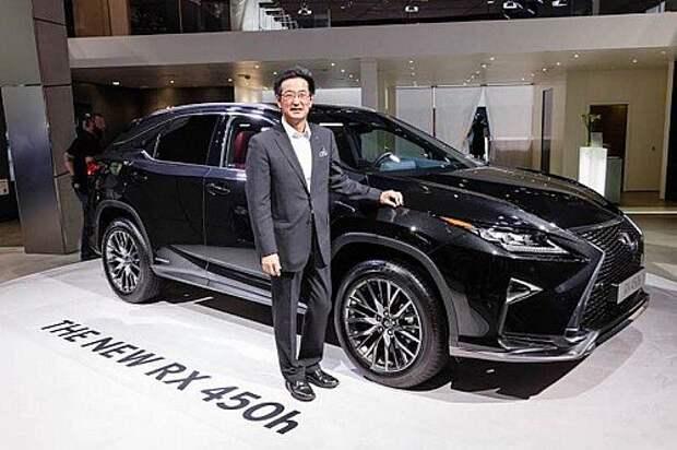 Такаюки Катсуда, Lexus: «Новый RX должен понравиться всем»