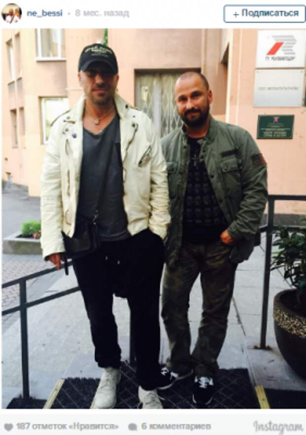 Дмитрий Нагиев опубликовал в Instagram фото своего младшего брата