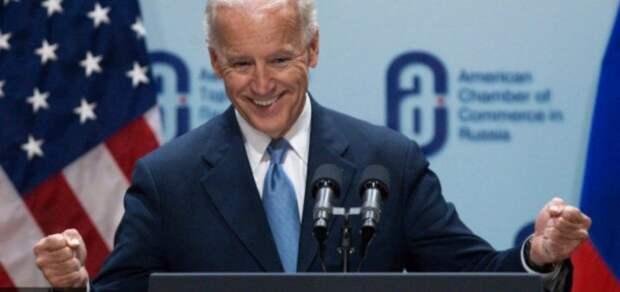Вице-президент США Байден инспектирует дурдом