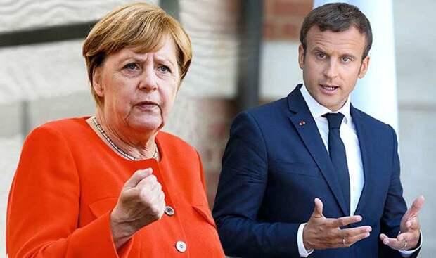 СРОЧНО: Макрон, Меркель и Зеленский выступили с призывом к России