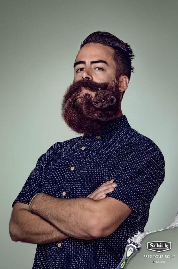 Будь мужиком! Сбрей бороду