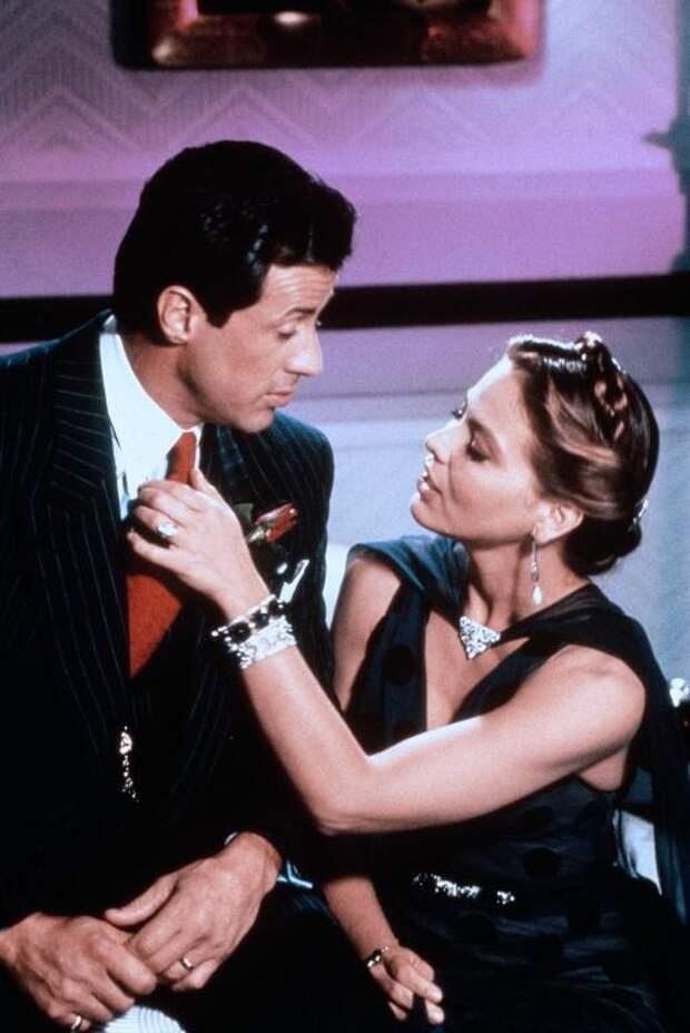 "Сильвестр Сталлоне и Орнелла Мути в комедии ""Оскар"". 1991 год."