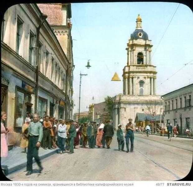 Москва 1930-х годов на снимках Бренсона Деку