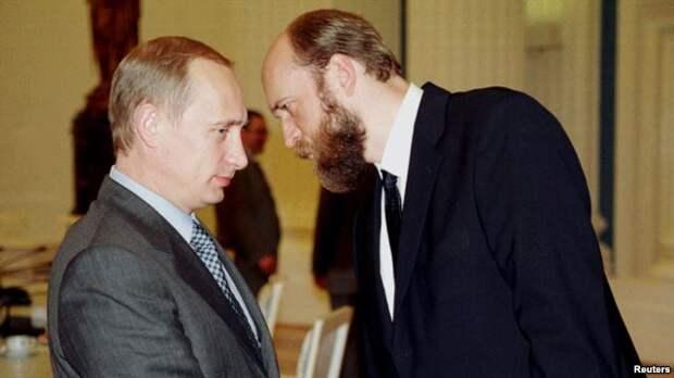 Владимир Путин и Сергей Пугачев (архивное фото)