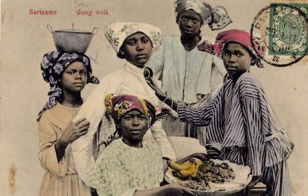 Голландский Суринам.