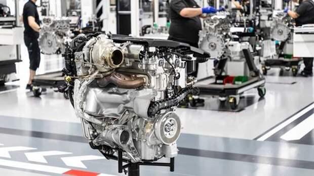 Подразделениe Mercedes-AMG представило самый мощный в мире четырехцилиндровый мотор