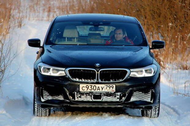BMW 6 GT: пожиратель снежного пространства